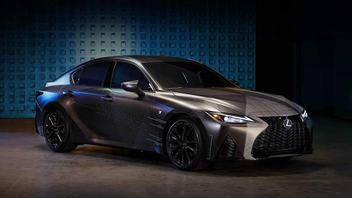 Компанія Lexus створила унікальну версію седана для геймерів