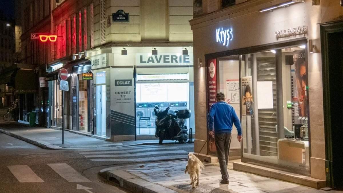 Во Франции p 3 апреля 2021 вводят уже 3 локдаун: ограничения
