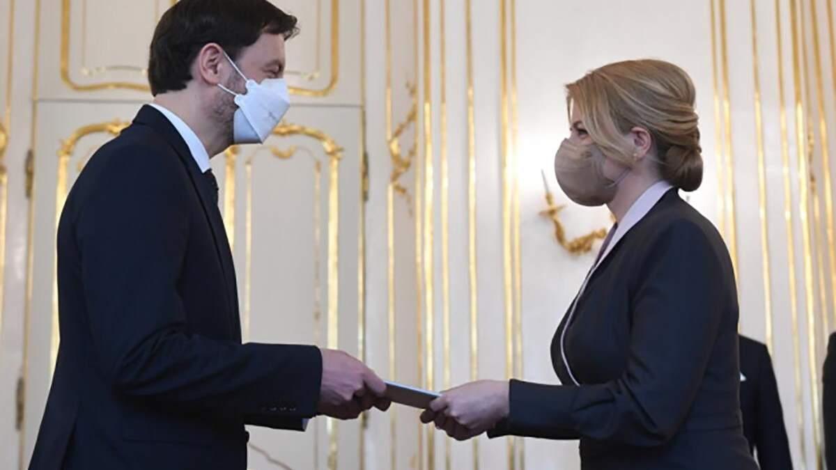В Словакии назначили нового премьера и утвердили состав правительства