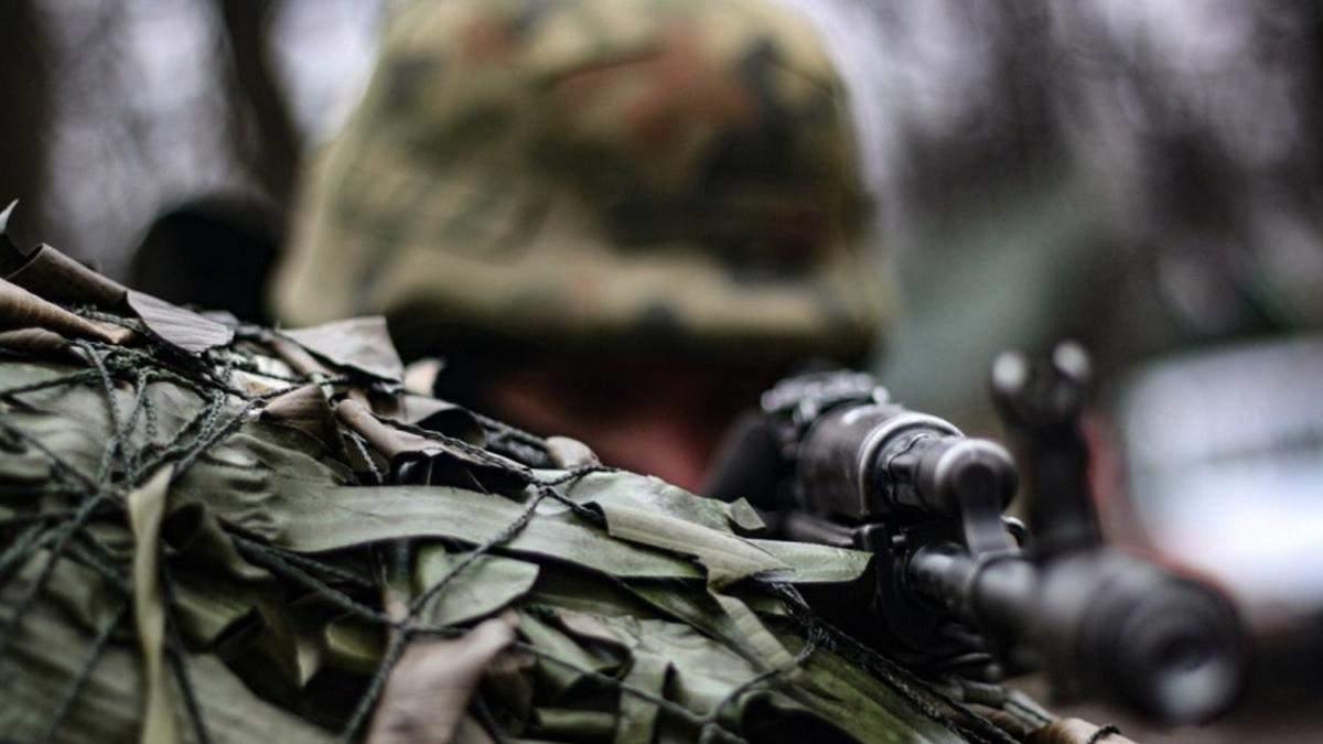 Возле Шумов ранили военного 1 апреля 2021