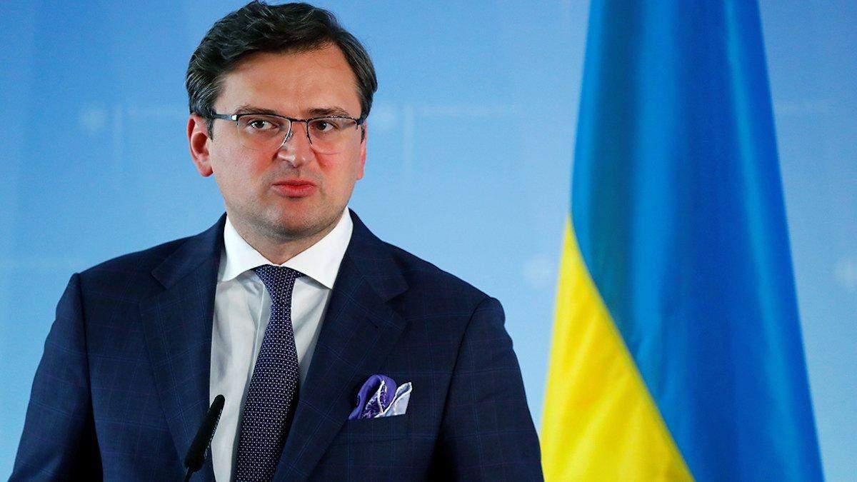 Россия завела ситуацию в тупик, – Кулеба об эскалации на Донбассе