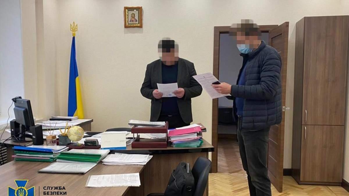 СБУ заблокировала масштабную схему хищения земель чиновниками