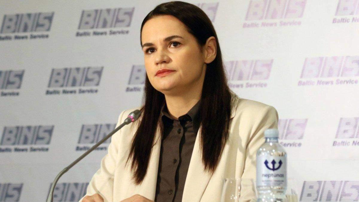 Крим – український, готова повторити це в Києві, – Тихановська