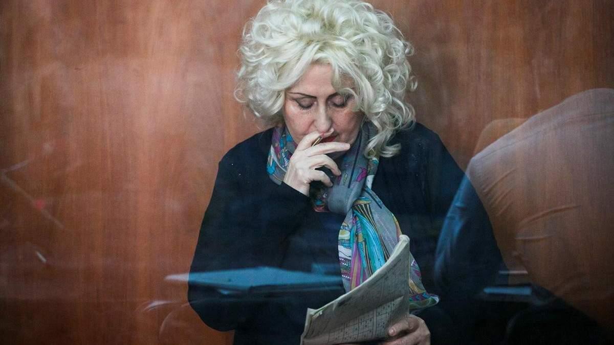 Суд отправил Нелю Штепу под ночной арест