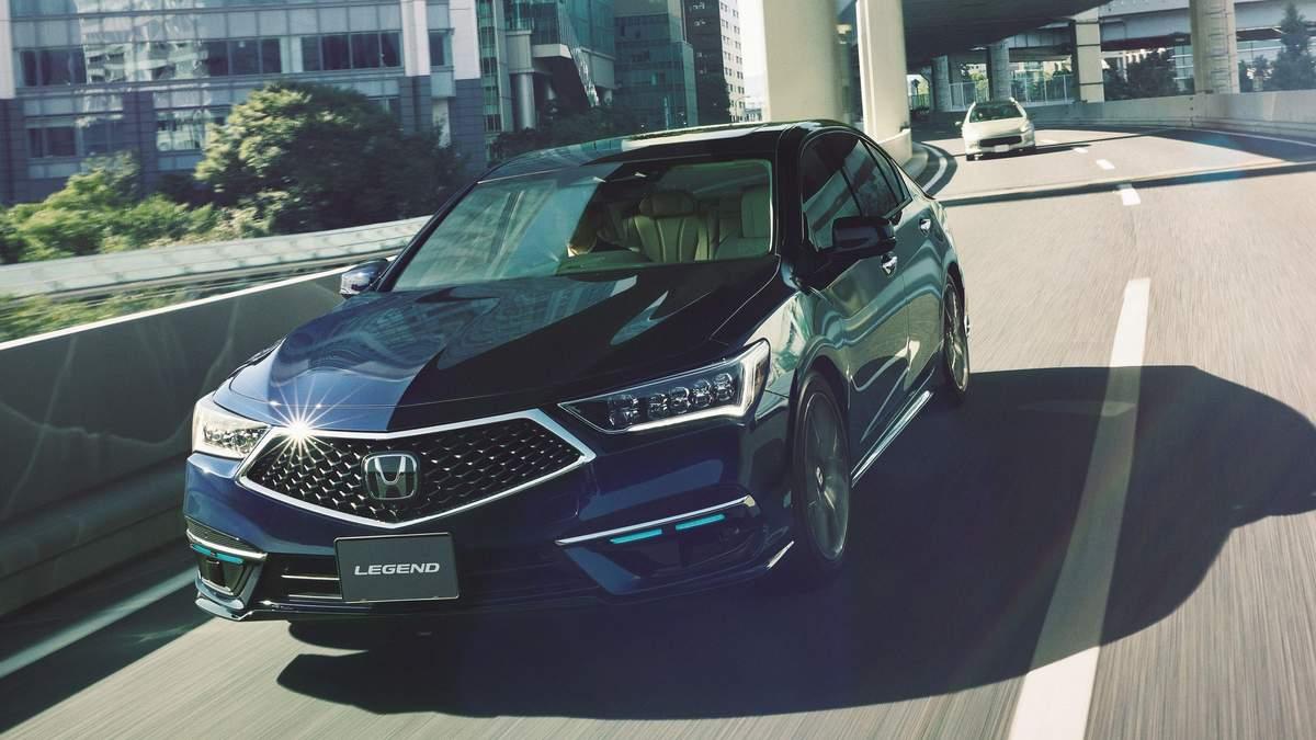 Honda у Японії розпочала продажі авто з третім рівнем автономності