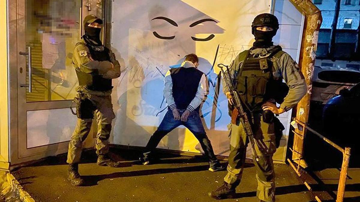 В Киеве разоблачили большое наркогруппировки во главе с осужденным