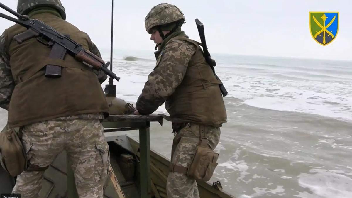 ВСУ учились минировать побережье возле Крыма, чтобы сдержать врага: видео