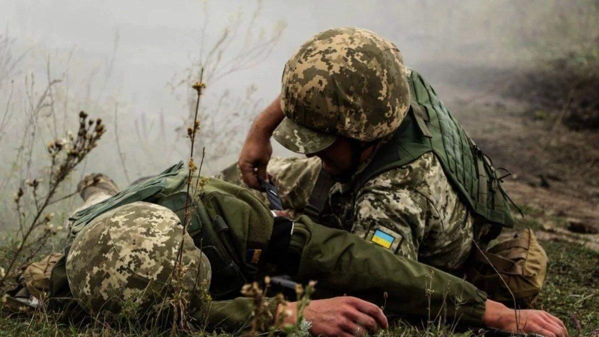 Оккупанты открыли огонь по ВСУ и мирным жителям 2 апреля 2021