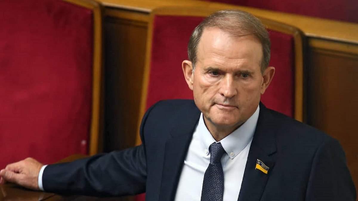 Зеленський заявив про пошкодження труби Медведчука