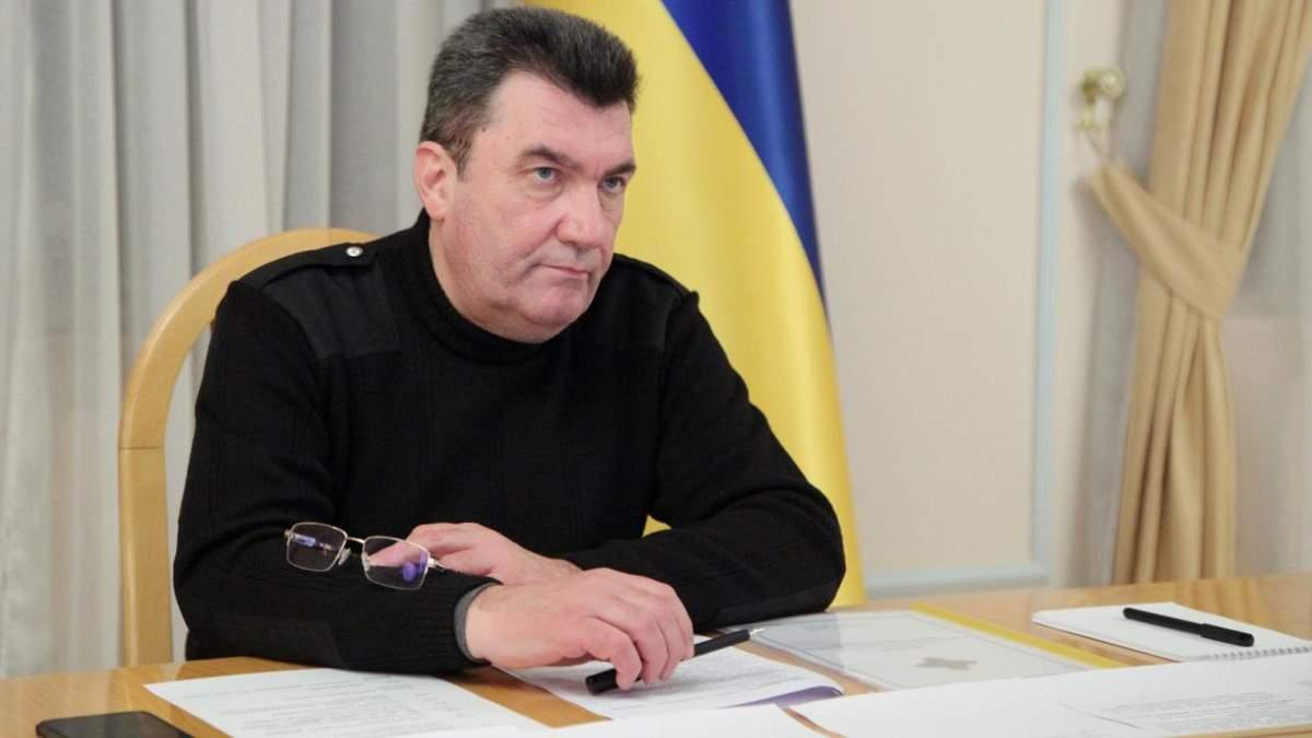 Росія має піти геть із України – більше нічого не треба, – Данілов про мир Донбасі