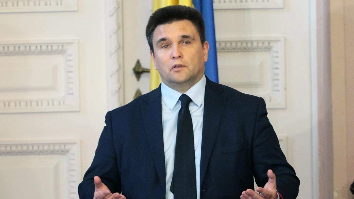 США передали России сигнал, санкциями не обойдется, - Климкин
