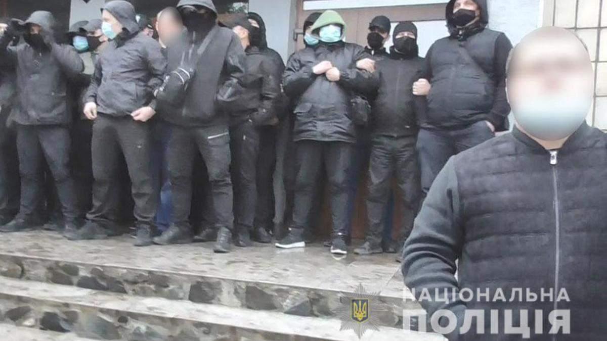 Рейдеры пытались захватить фирму Прогресс на Полтавщине