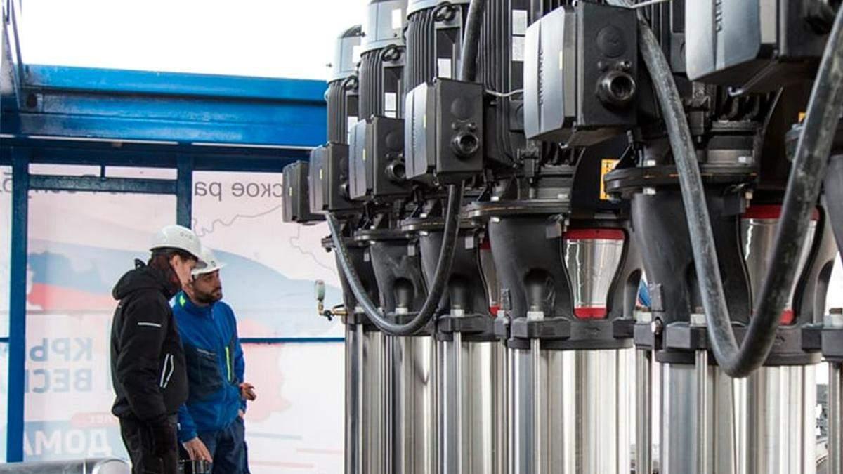 На водогоні окупантів у Криму помітили обладнання Siemens