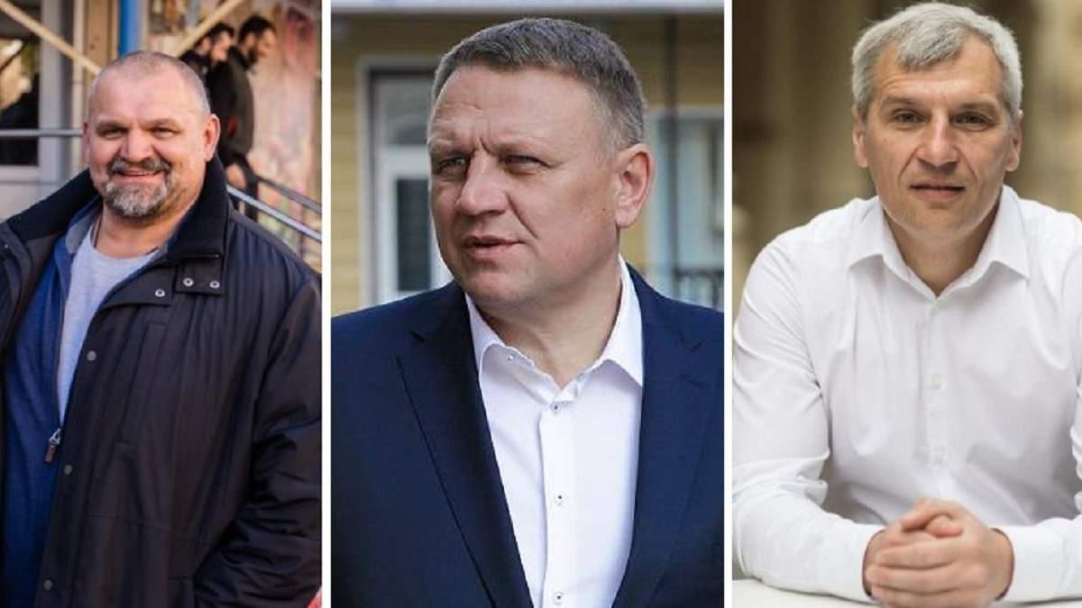 Реакция партий на исход выборов на Прикарпатье, округ №87
