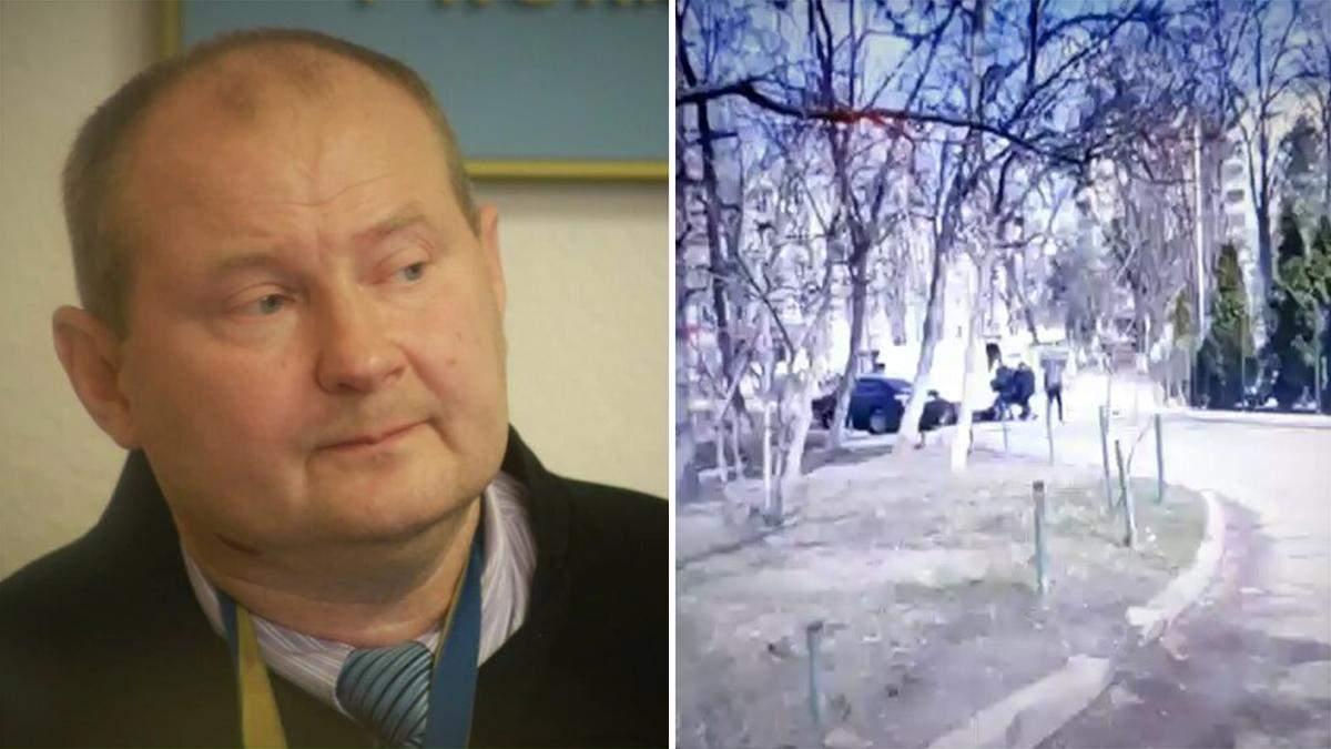 Похищение экс-судьи Чауса в Молдове: появилось видео