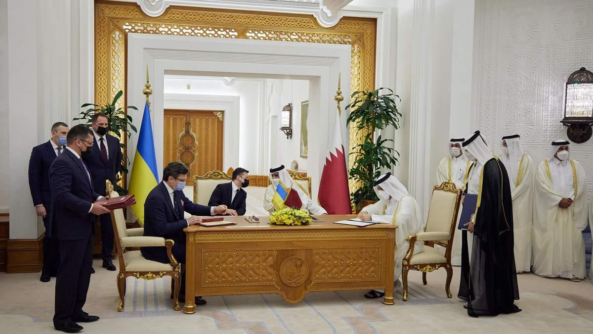 В Катаре подписали ряд важных для Украины документов