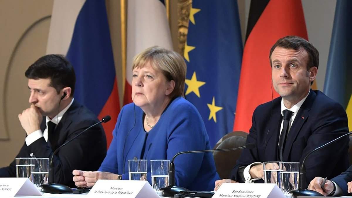 В ОП підтвердили, що Зеленський, Меркель і Макрон проведуть переговори