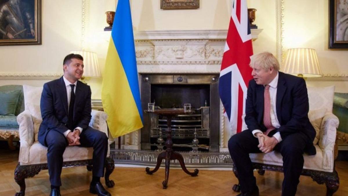 Ми відчуваємо, що Україна не на самоті, – Зеленський поговорив з Джонсоном