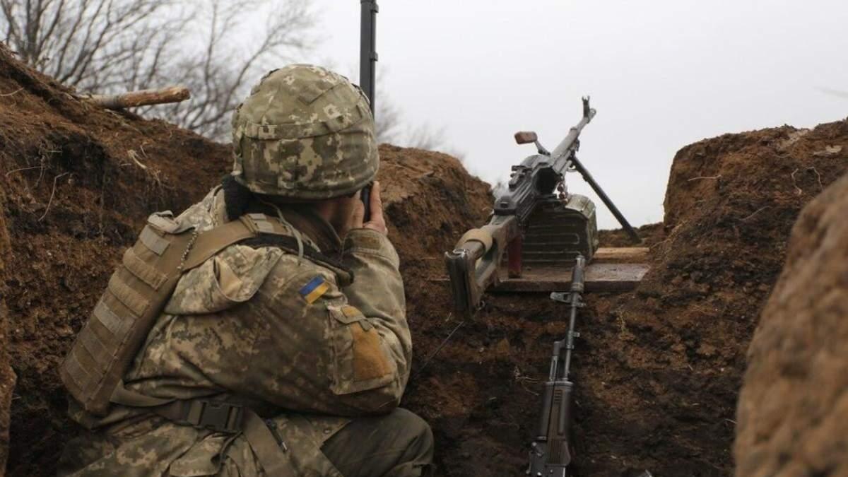 На Донбассе боевики убили украинского военного 5 апреля 2021