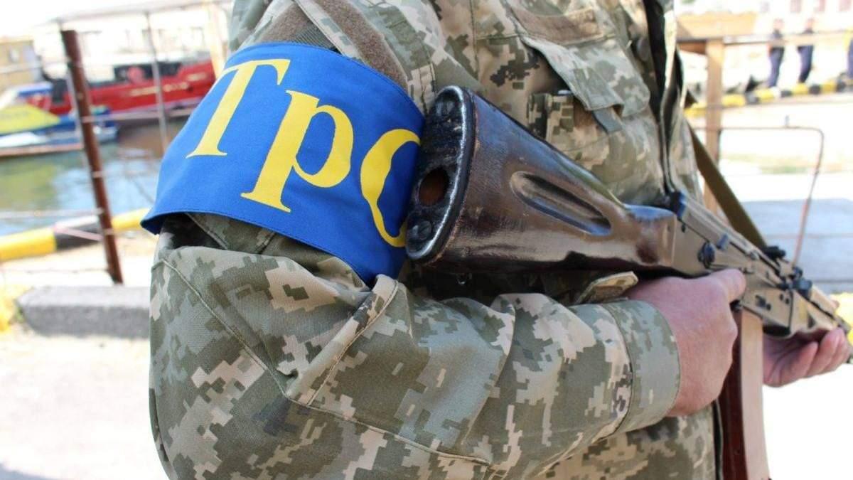 На юге Украины формируют подразделения теробороны: проводят сборы
