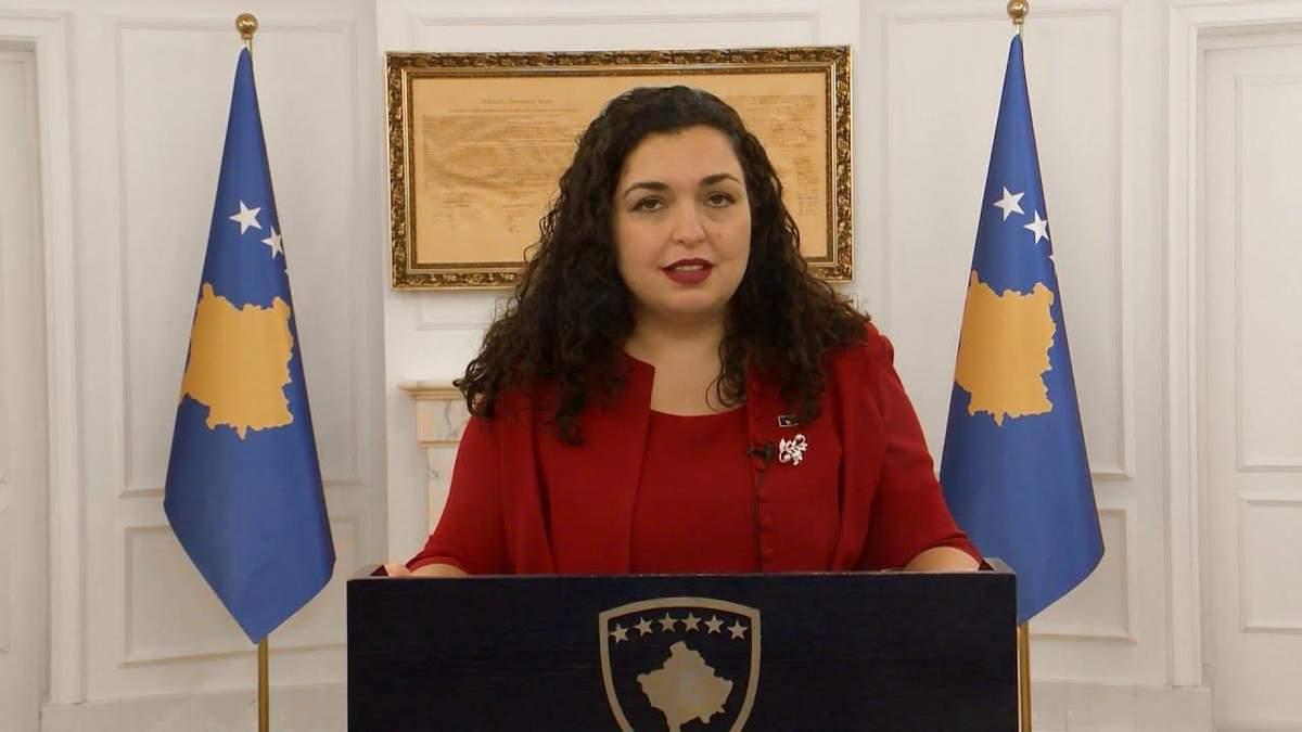 Друга президентка: що відомо про лідерку Косова Вйосу Османі