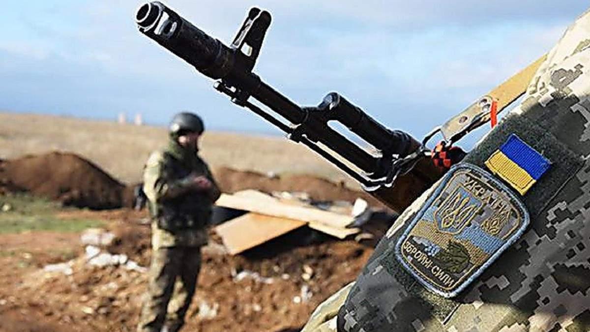 Боевики передали Украине тело пропавшего на днях бойца ВСУ