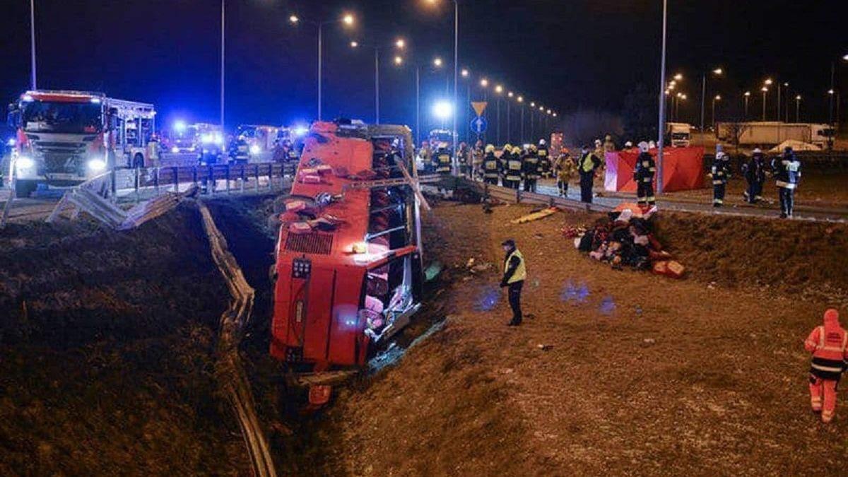 ДТП з українцями в Польщі: автобус був справним - експертиза