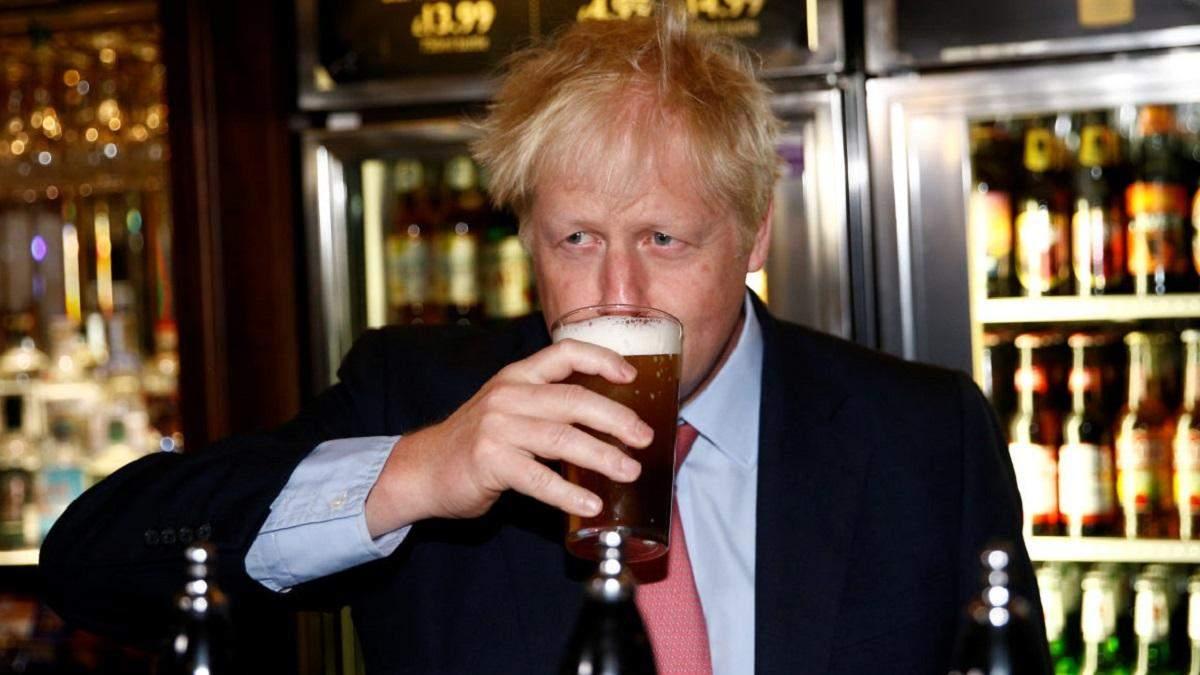 Борис Джонсон планирует пойти в паб на пиво после локдауна