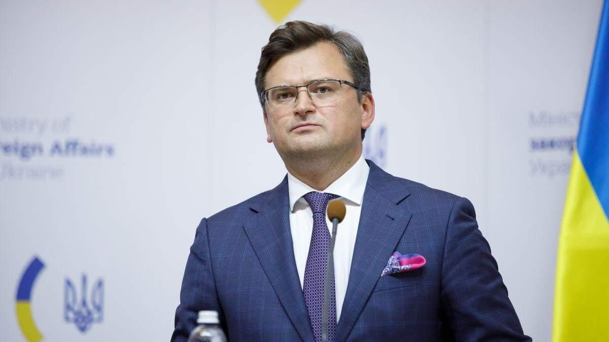Украина не хочет войны, - Кулеба
