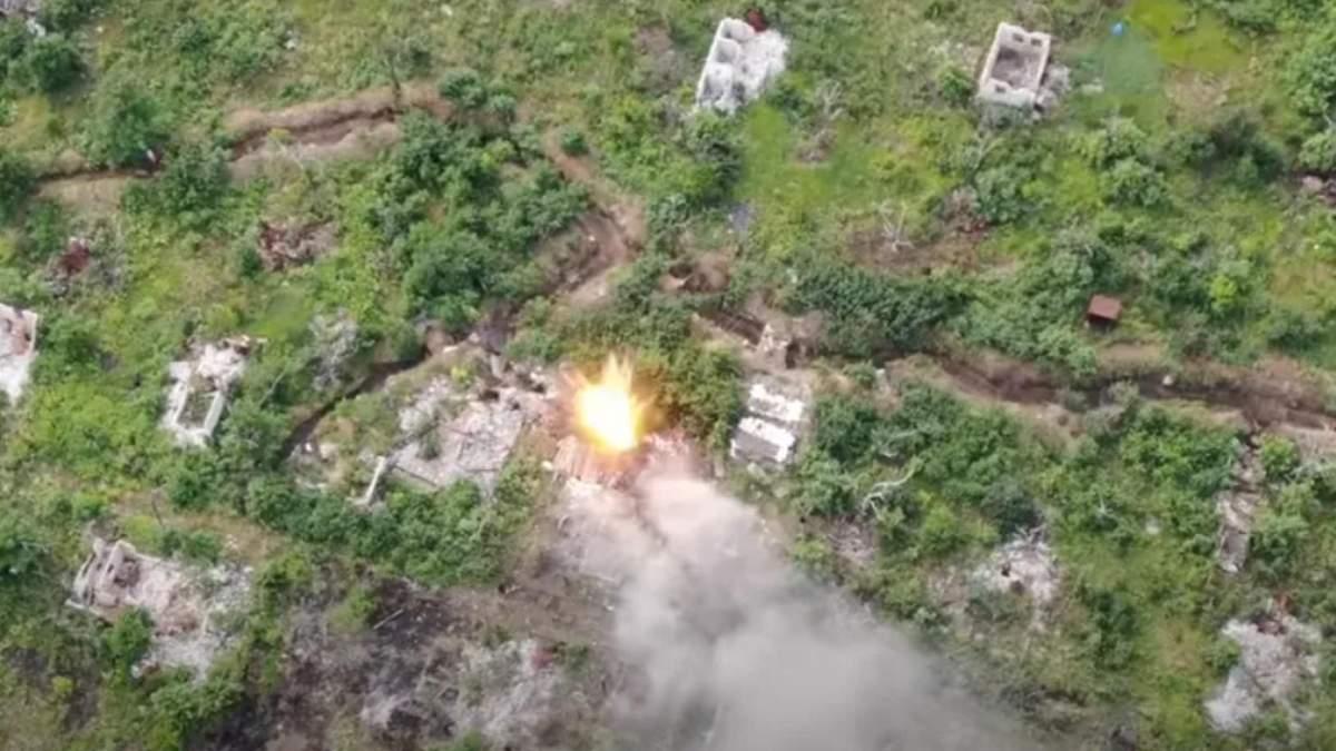 ЗСУ показали знищення поста російських окупантів: відео