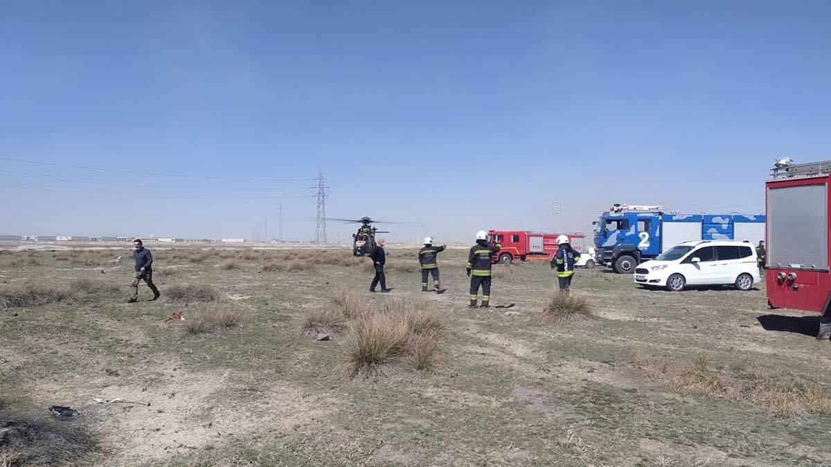 Турецкий истребитель NF-5 разбился на тренировке: пилот погиб