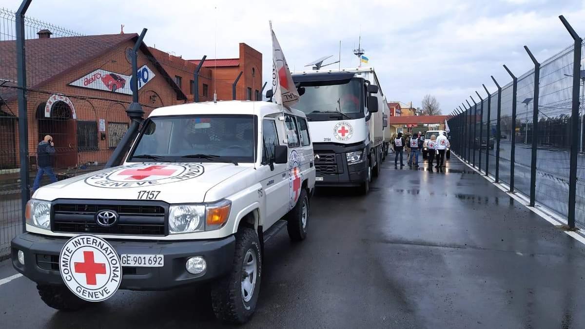 100 тонн гуманітарної допомоги передали на окупований Донбас