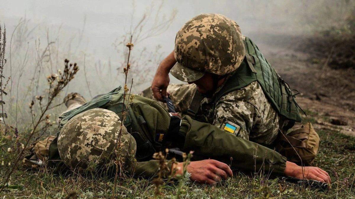 Бойовики поранили військового ЗСУ 7 квітня 2021