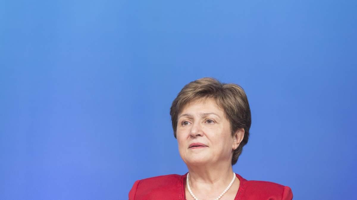 Глава МВФ Крісталіна Георгієва