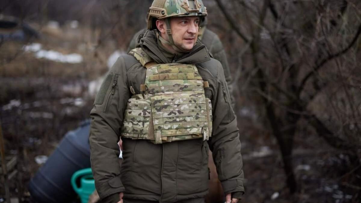 Зеленский 8 апреля отправился на Донбасс