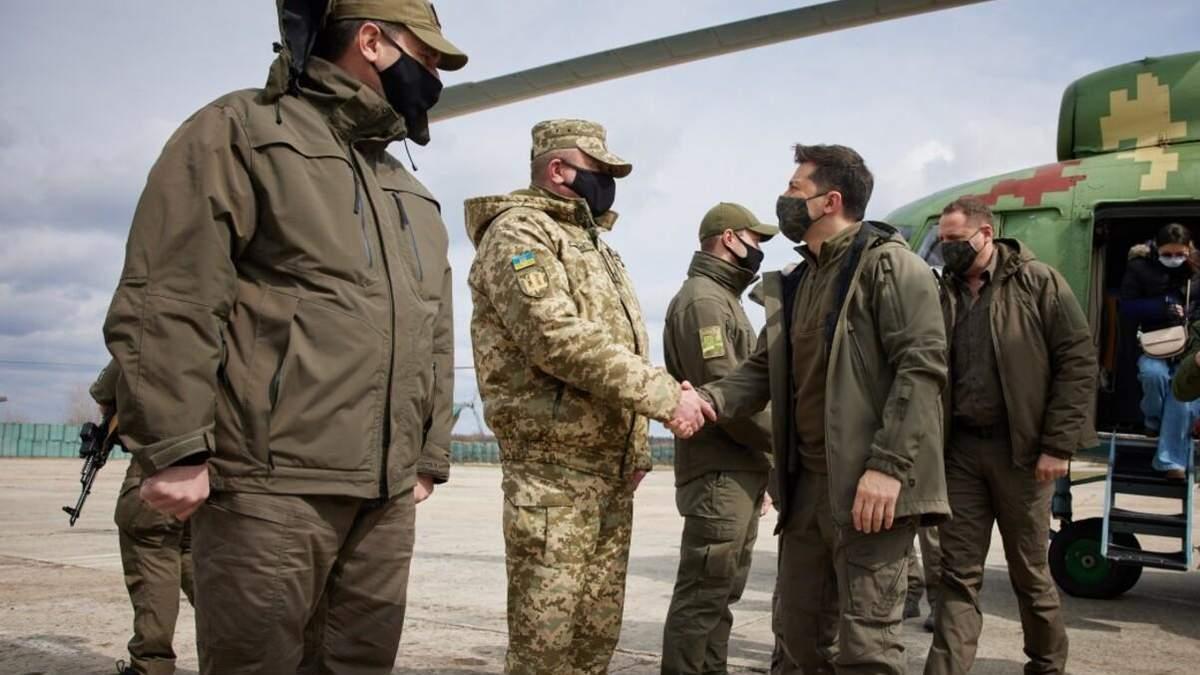 Зеленський прибув на Донбас 8 квітня 2021