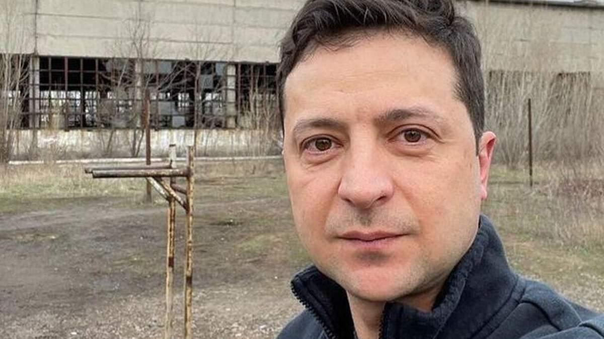 Зеленский показал фото с тренировки в Авдеевке