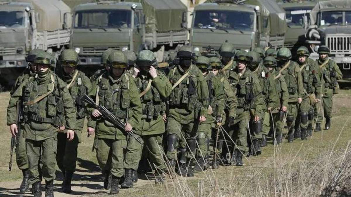 Небезпека через стягнення російських військ до кордону України