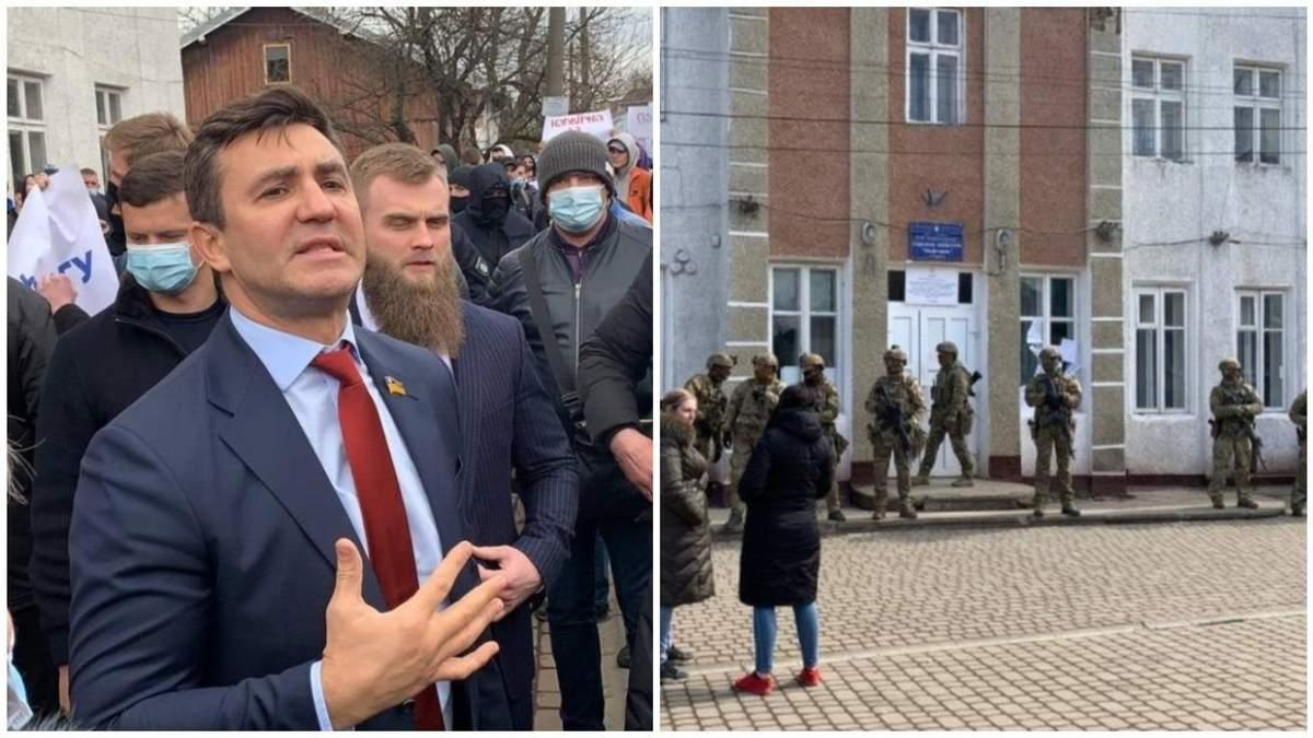 Поведінка Тищенка на виборах на Прикарпатті: коментар ОП