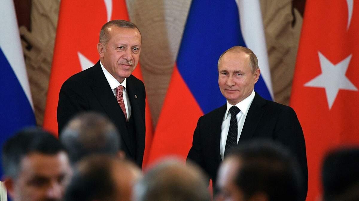 Напередодні візиту Зеленського Ердоган поговорив з Путіним