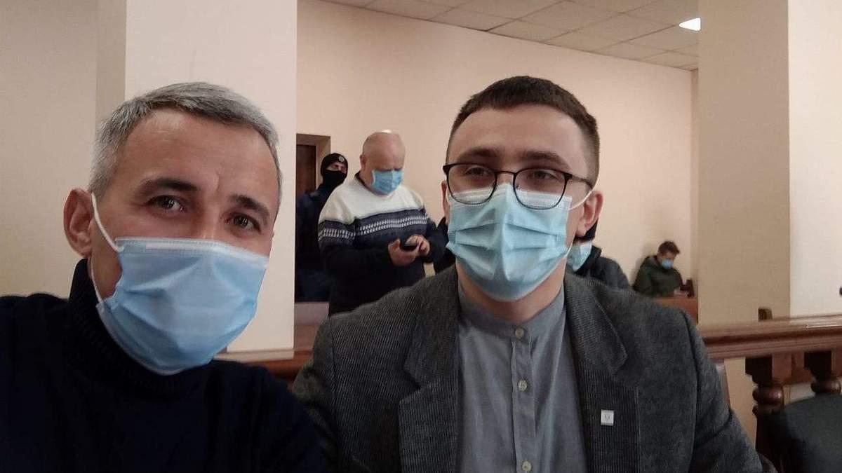 Активист Сергей Стерненко написал свой первый пост не из СИЗО