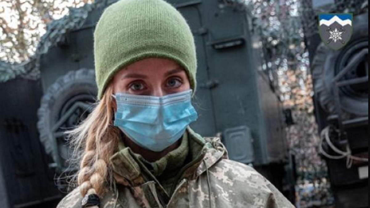 Военная медик Светлана Землина получила орден Хмельницкого