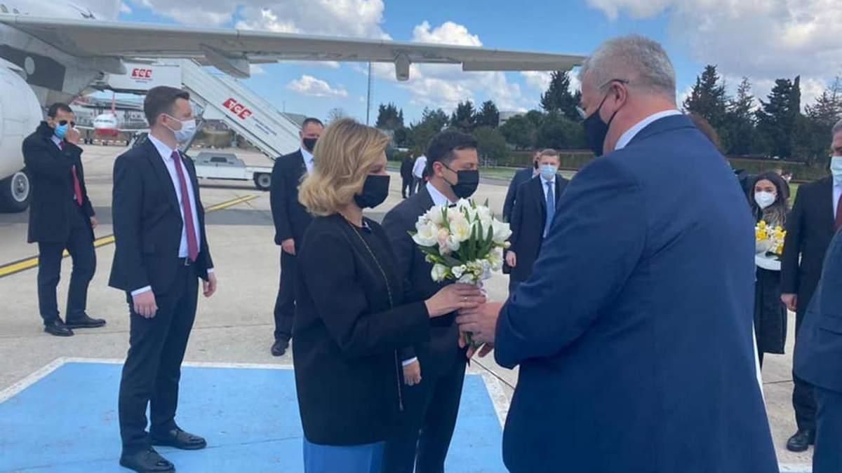 Президент Зеленський прибув з візитом до Туреччини