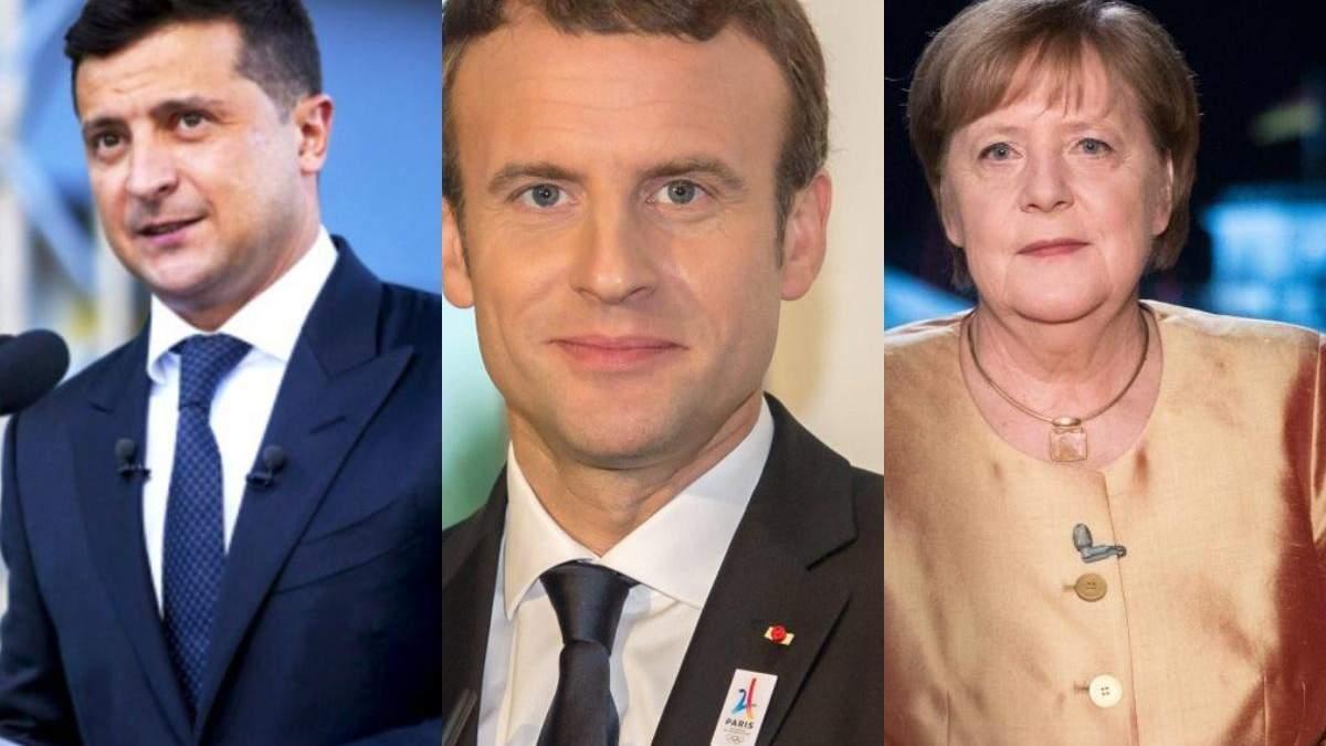 Зеленский, Меркель и Макрона могут встретиться в ближайшее время