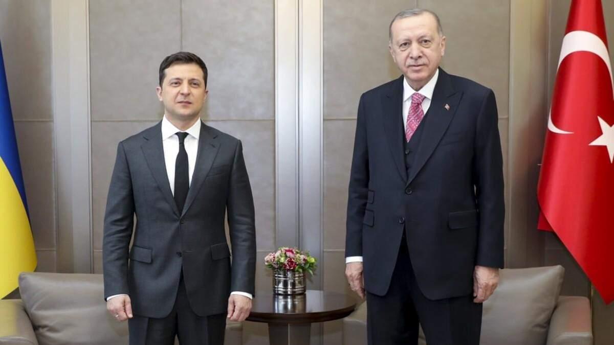 У Стамбулі 10.04.2021 розпочалися переговори Зеленського й Ердогана