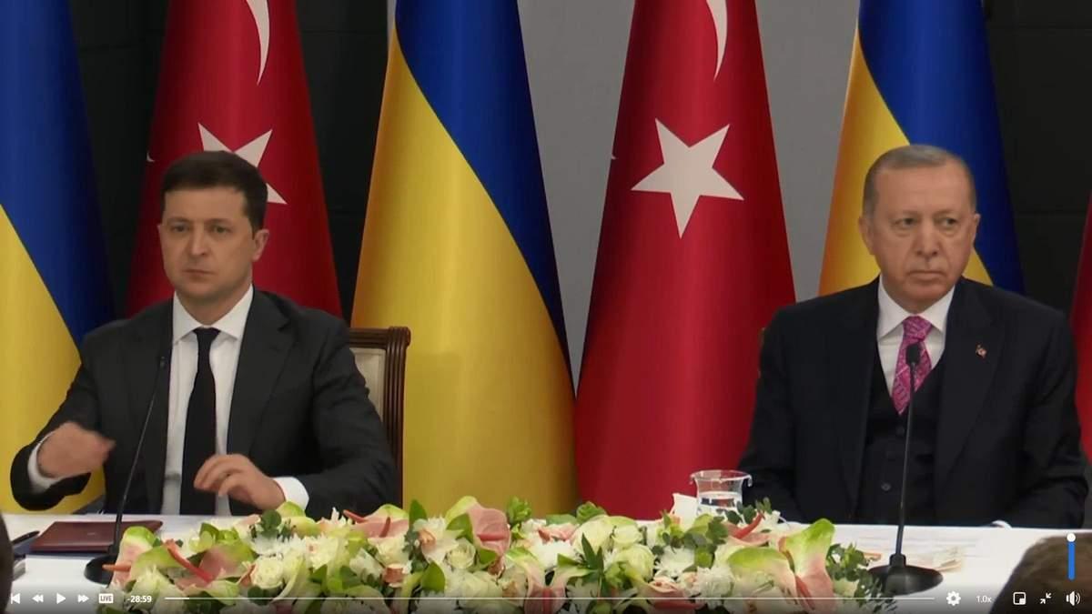 Говорили 2 часа: о чем договорились Зеленский и Эрдоган – видео