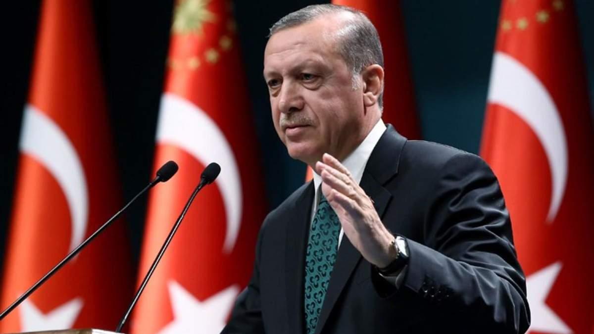 Реджеп Эрдоган отреагировал на обострение на Донбассе