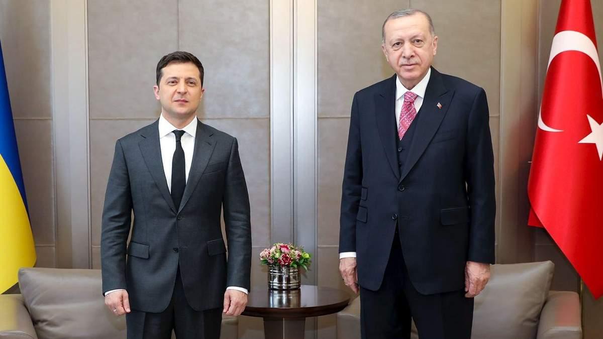 Пишаюся, що називаємо один одного другом, – Зеленський про Ердогана
