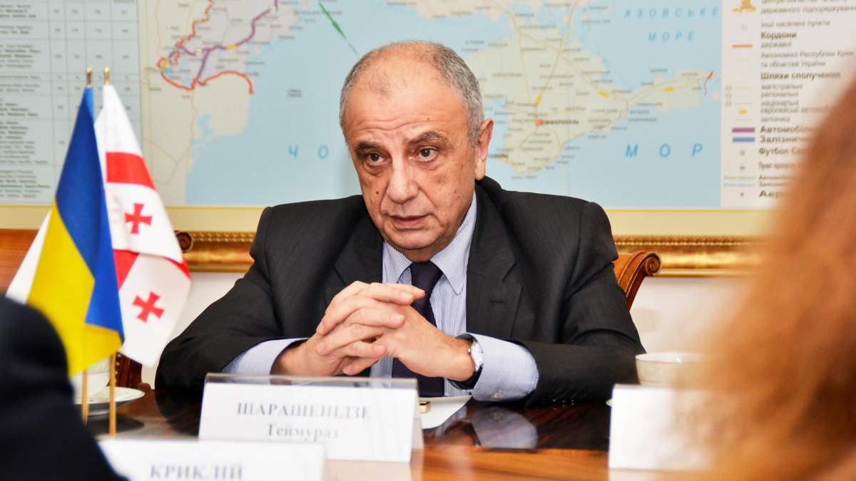 В Украине вернут действующего посла Грузии
