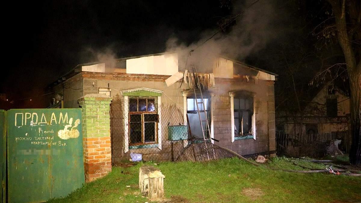 В Днепре в пожаре 11.04.2021 погибли 2 мужчин - фото, видео
